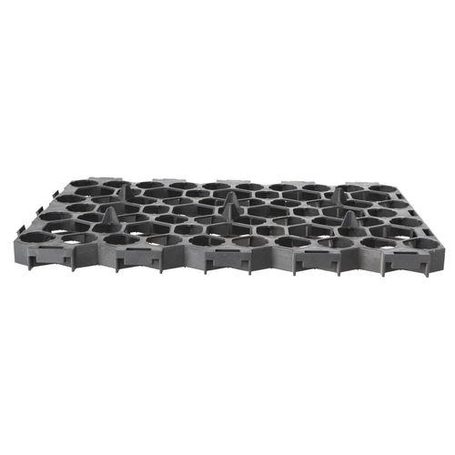 Decor grastegel grijs 56x38x3,1cm
