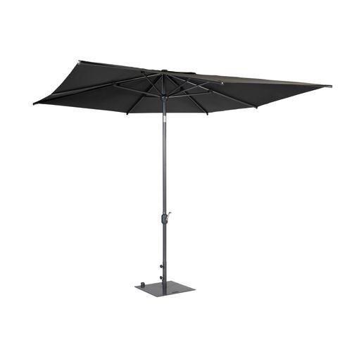 Exotan parasol Apple vierkant antraciet 300x300cm