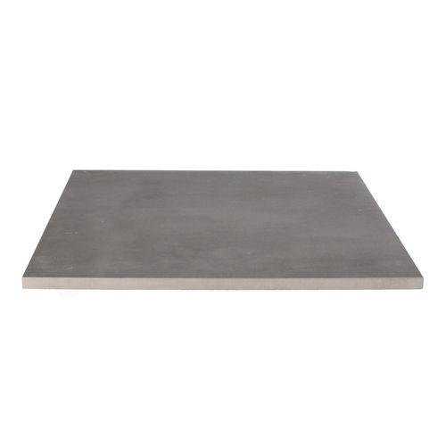 Decor keramische tegel betonlook antraciet 60x60x2cm