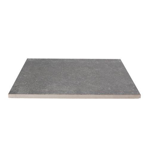 Decor keramische tegel mustang antraciet 60x60x2cm