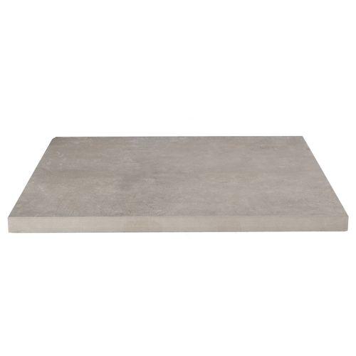 Decor keramische tegel hardsteen antraciet 60x60x3cm
