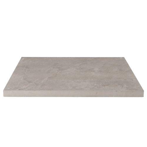 Decor keramische tegel leisteen grijs 60x60x3cm