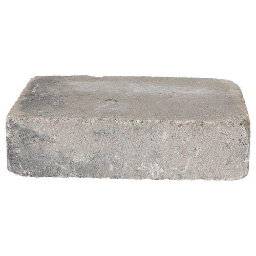 Decor trommelsteen beton grijs-zwart 28x21x7cm