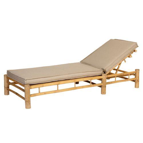 Exotan ligbed Bamboo + comfortabele kussens