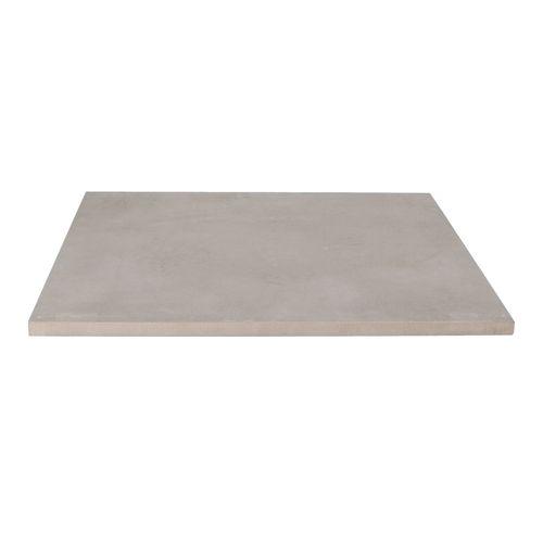 Decor keramische tegel betonlook grijs 60x60x2cm