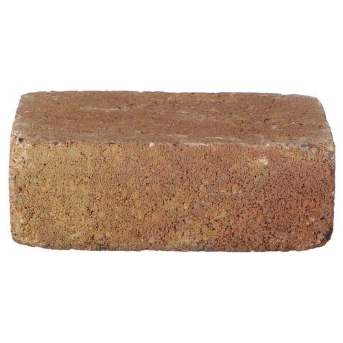 Decor trommelsteen beton bont 21x14x7cm