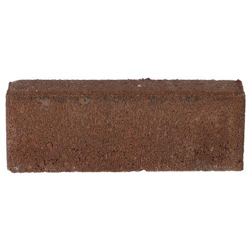 Decor betonsteen waalformaat facet brons 20x5x7cm