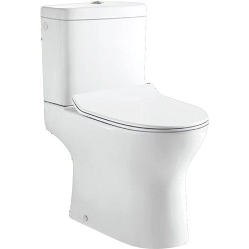 GO by Van Marcke duoblok toilet Gustav H-uitgang met softclose en takeoff toiletzitting wit