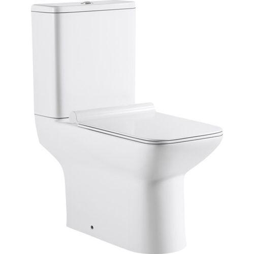 GO by Van Marcke duoblok toilet Ike staand toilet H-uitgang met Geberit spoelmechanisme + softclose en takeoff toiletzitting