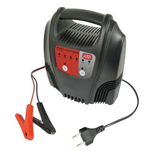 Chargeur de batterie Carpoint 6-12V 4A
