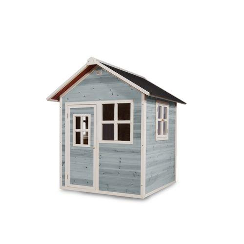 EXIT Loft 100 houten speelhuis blauw