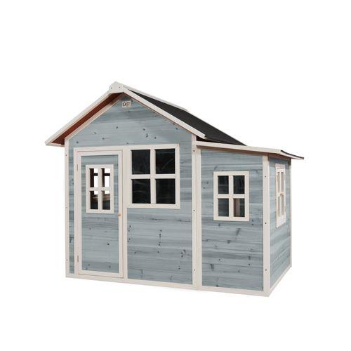 Maisonnette en bois EXIT Loft 150 bleue