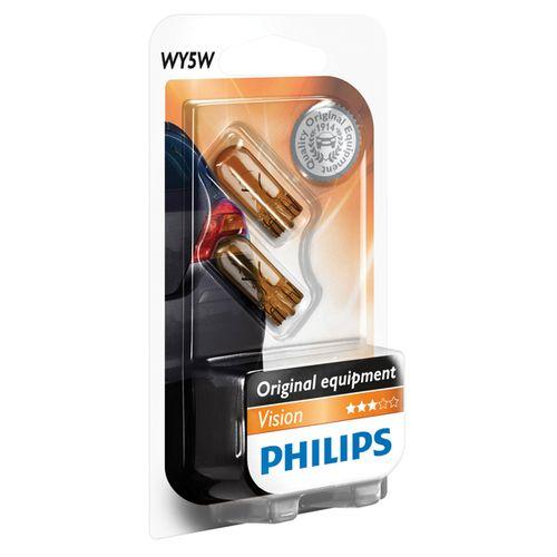 Philips knipperlichtset Vision 12396NAB2 WY5W - 2 stuks