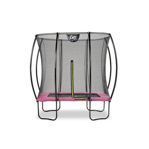 Exit trampoline Silhouette 153x214cm roze