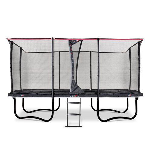 Exit trampoline PeakPro 275x458cm zwart