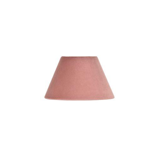 Corep lampenkap fluweel roze Ø22cm