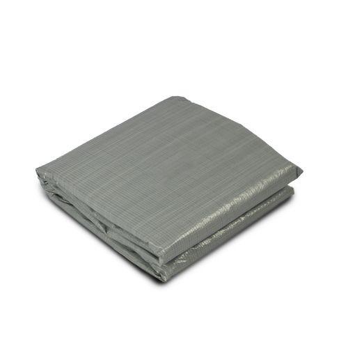 EXIT opzetzwembad grondzeil 380x380cm grijs
