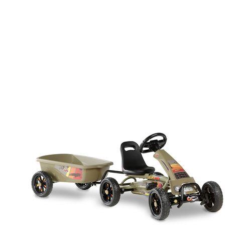 Kart EXIT Foxy Expedition avec remorque vert foncé