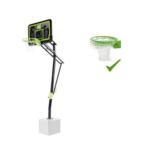 Panneau de basket EXIT Galaxy pour fixation au sol avec cercle dunk black edition