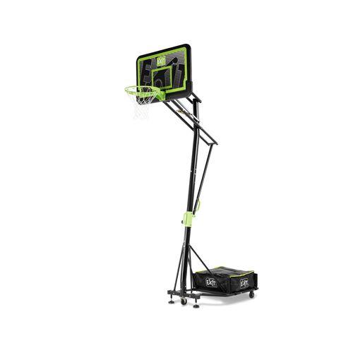 Panneau de basket mobile à roulettes EXIT Galaxy black edition