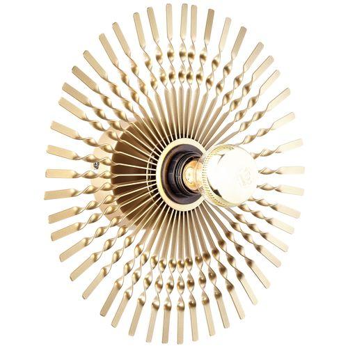 Brilliant wandlamp Mendoza goud E27