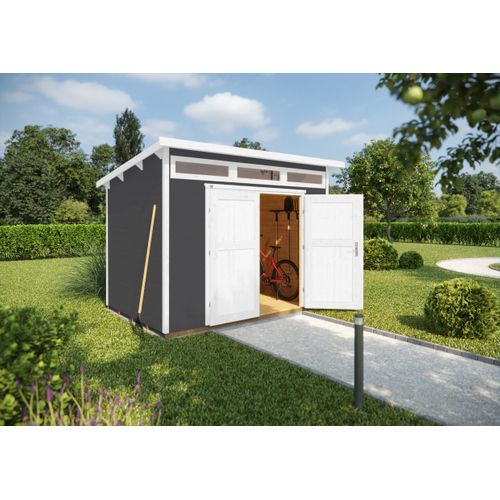 Weka tuinhuis 264 GR1 grijs 209x235cm