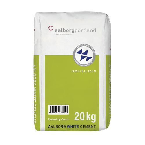 Aalborg cement wit cem 42,5n 20kg