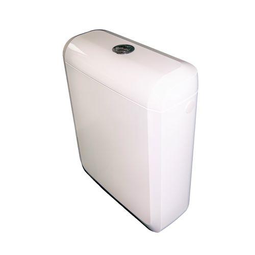 AquaVive duoblok toiletreservoir Lambro 3/6 liter 34x41,5x13,7cm wit