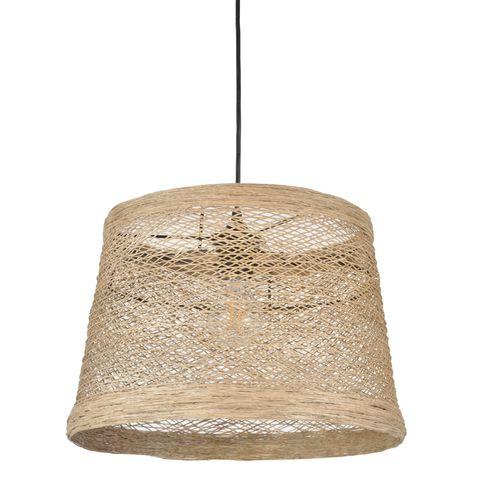 Corep hanglamp Nude gevlochten draad E27