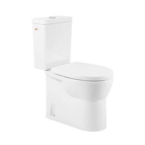 AquaVive duoblok toilet pack Cormor randloos wit