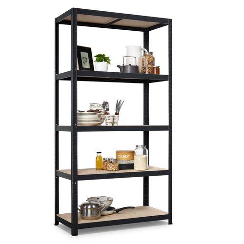 Avasco stellingkast Strong 176x90x45cm mat zwart