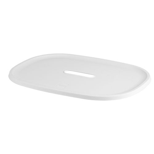 Couvercle boîte rangement Kis Filo M-L blanc