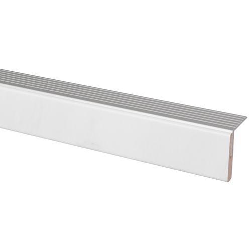 Afwerkprofiel wit marmer 130x5cm