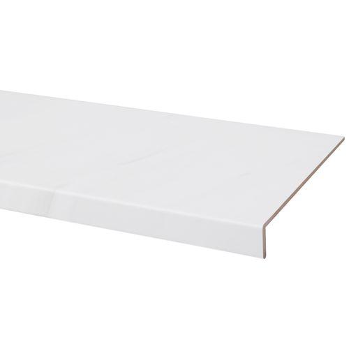 CanDo overzettrede wit marmer 130x38cm