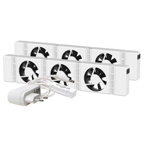 SpeedComfort radiatorventilator Duo wit
