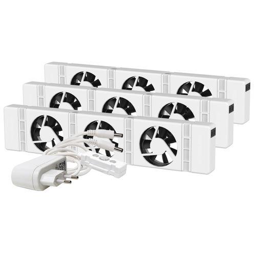 SpeedComfort radiatorventilator Trio wit