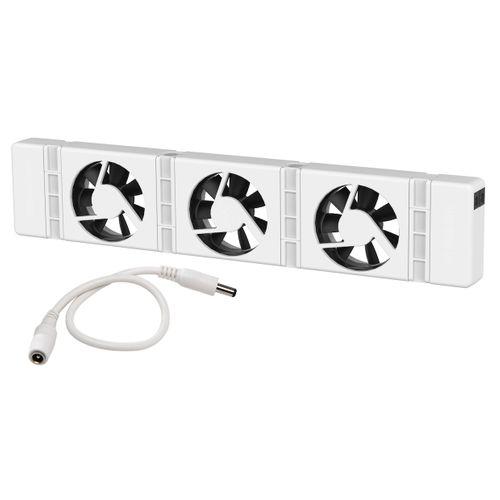 SpeedComfort radiatorventilator uitbreidingsset wit