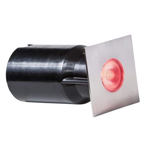 Vlonderverlichting 3W RGB RVS