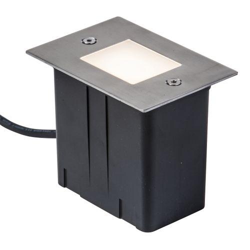 Vlonder- en wandverlichting 2W wit