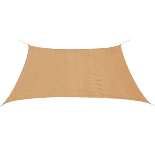 VidaXL zonnescherm HDPE vierkant 2x2 m beige