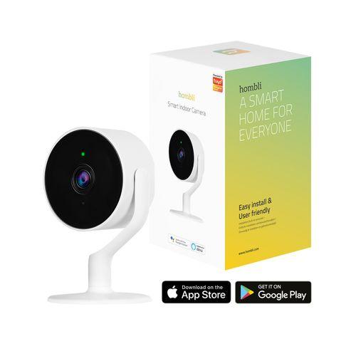Hombli slimme indoor beveiligingscamera Full HD bewegingsdetectie