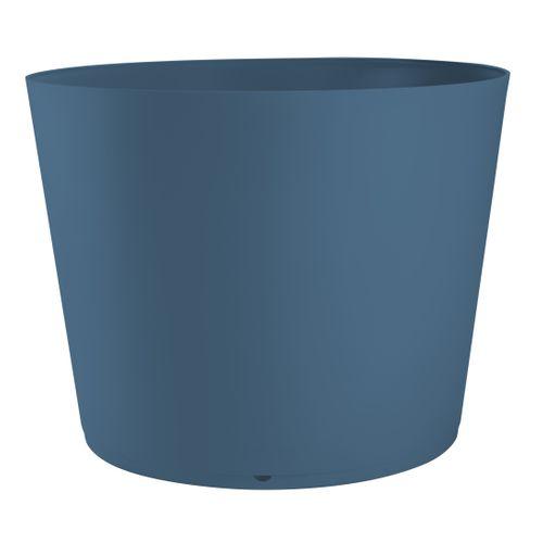 Grosfillex plantenbak Tokyo PVC ø80cm blauw denim