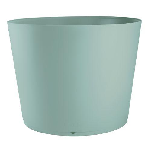 Grosfillex plantenbak Tokyo PVC ø80cm blauw mint