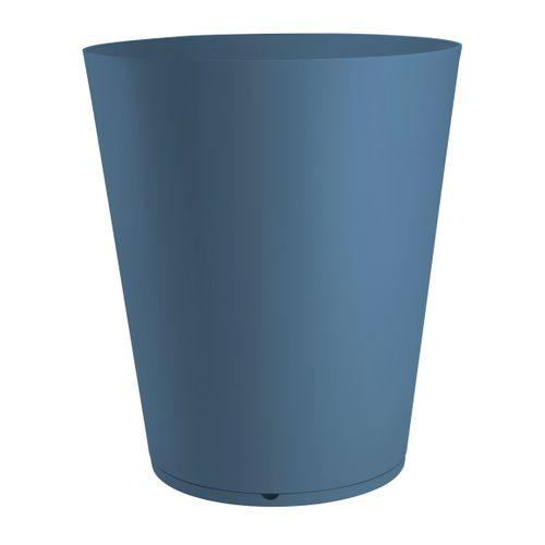 Grosfillex planteur Tokyo PVC ø60cm bleu denim