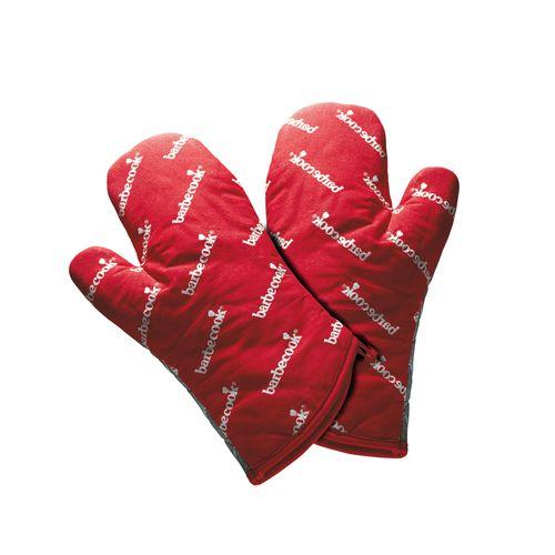 Gants Barbecook rouge 28cm