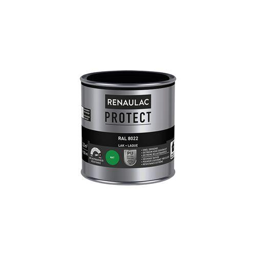 Laque Renaulac Protect RAL8022 mat 250ml