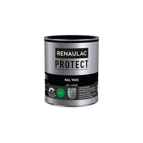 Laque Renaulac Protect RAL9005 mat 750ml