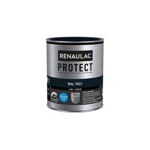 Laque Renaulac Protect RAL7021 satin 750ml