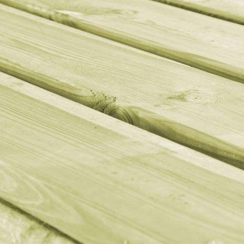 VidaXL tuintafel 160x79x75cm hout