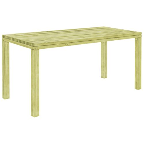 VidaXL tuintafel 170x75,5x77cm geïmpregneerd grenenhout